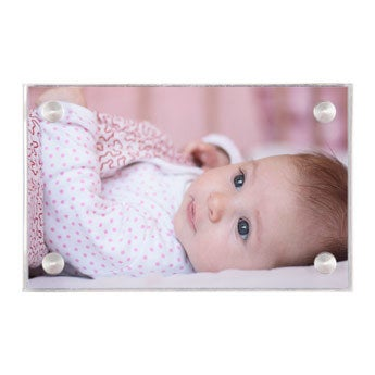 Akryl fotoblokk - 7 x 4,5 cm