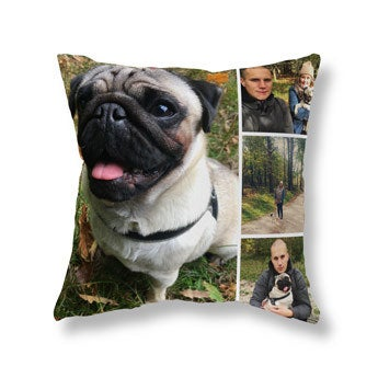 Coussin photo recto-verso - Velours 40x40