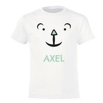 T-shirt - Enfant - Blanc - 10 ans