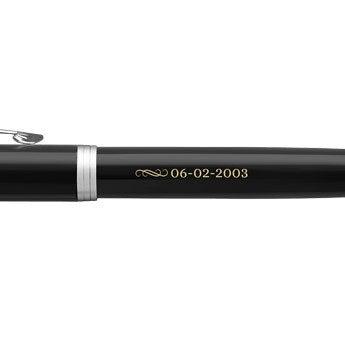 Parker - penna stilografica IM - Nero (mano destra)