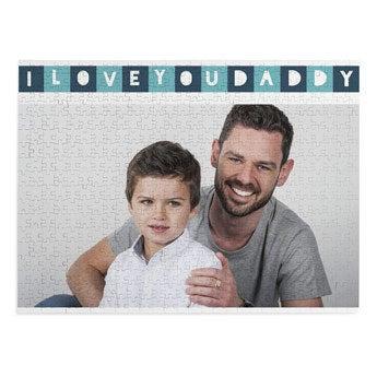 Apák napja puzzle - 500 darab