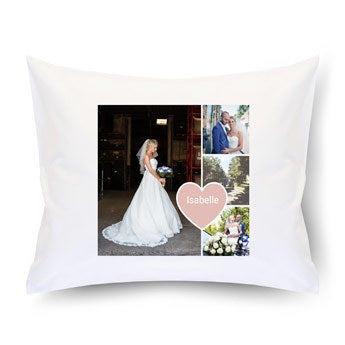 Cushion case - White - 50 x 60 cm