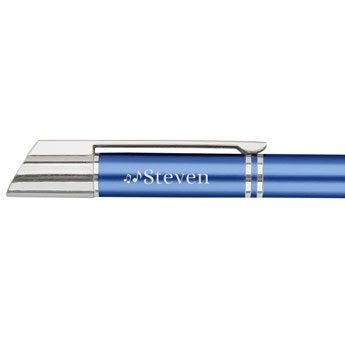 Viva penner - Tess ballpoint penn - Blå (venstre hånd)
