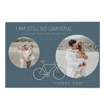 Personalised jigsaw puzzle - Father's Day - 120 pcs