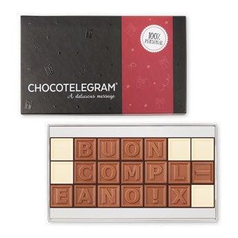 Telegramma di cioccolato - 21 caratteri