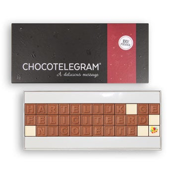 Chocolate telegram - 36 characters