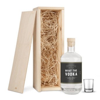 YourSurprise vodka - Gift set with glass