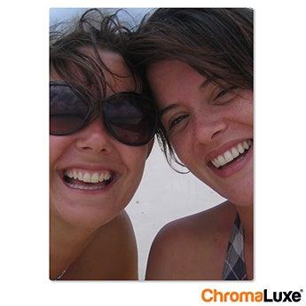 Chromaluxe Aluminium foto - Hvid - 40x50 cm