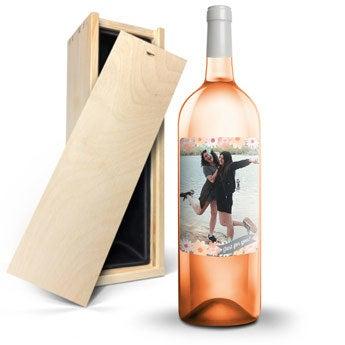 Wino Ramon Bilbao Rosado - Z etykietą -Magnum