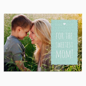 Personalised jigsaw puzzle - Mother's Day - 500 pcs