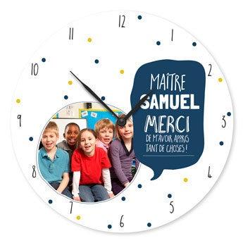 Horloge maîtresse/ maître d'école