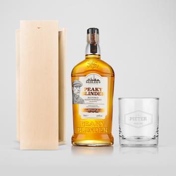 Coffret whisky Peaky Blinders