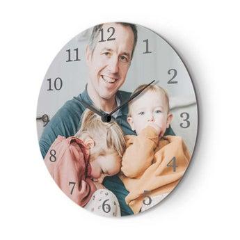 Reloj de pared con foto pequeño
