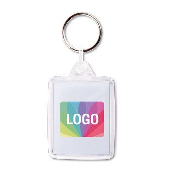 Acyrlic photo keychain - double-sided (set of 50)