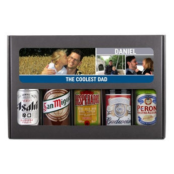 Father's Day beer gift set - International