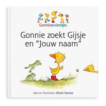Gonnie zoekt Gijsje - Hardcover
