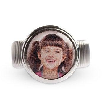 Click Ring met foto