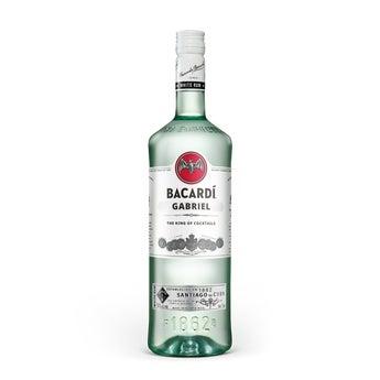 Bacardi Carta Blanca 1L - potlačená etiketa
