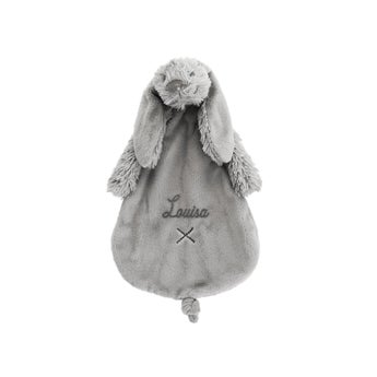 Rabbit Richie Schmusetuch - Grau