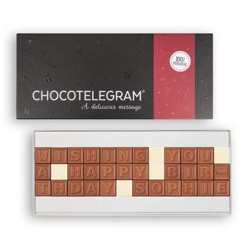 Chocolate telegram - 36 characters