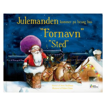 Bog med navn - Santa kommer