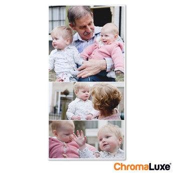 Chromaluxe Fototafel -  Weiß 30x60 cm