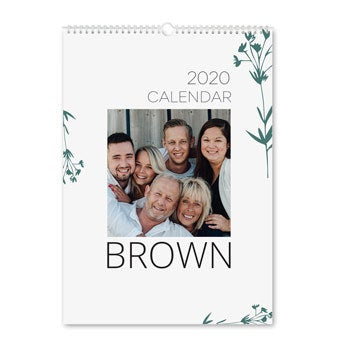 Årskalender 2020 - A3