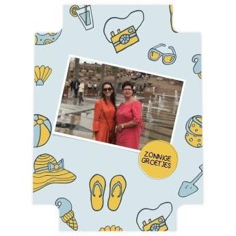 Fotokoffer Princess inlay - Backpack