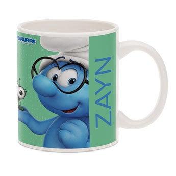The Smurfs mug with photo