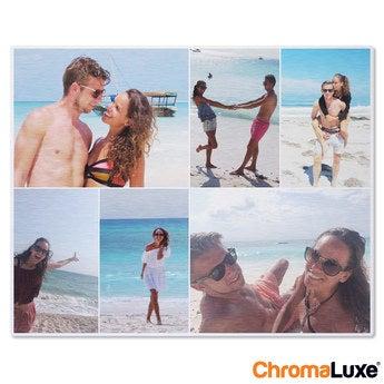 Chromaluxe Aluminium photo - Brushed - 50x40cm