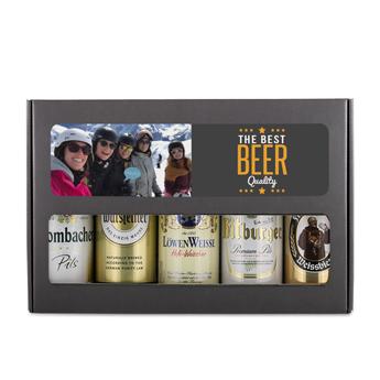 Bierpakket blikken - Duits