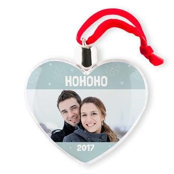 Weihnachtsschmuck - Herz (4)