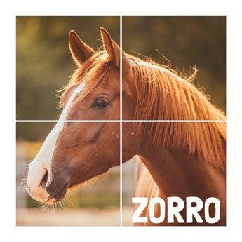 Instacollage - 4 carrés 20x20 - Brillant