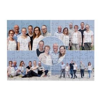 Personalised jigsaw puzzle - 96 pcs