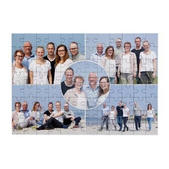 Personalised jigsaw puzzle - 96 pcs