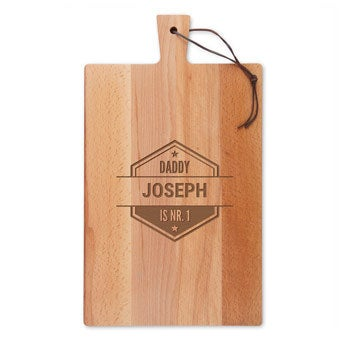 Tábua de madeira - Beech - Rectangle - Portrait (L)