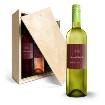 Coffret à vin Oude Kaap Rouge, Blanc et Rosé