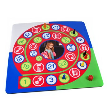 Juego de mesa con foto - El juego de la oca