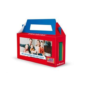 Geschenkbox mit 3 Tony's Chocoloney Tafeln
