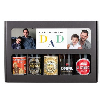 Father's Day beer gift set - Belgian