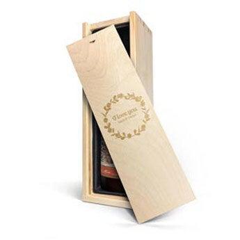 Nürnberger Glühwein - Kiste mit Gravur