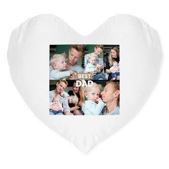 Father's Day cushion - Heart