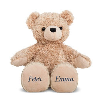 Teddybär mit Namen - Hochzeit