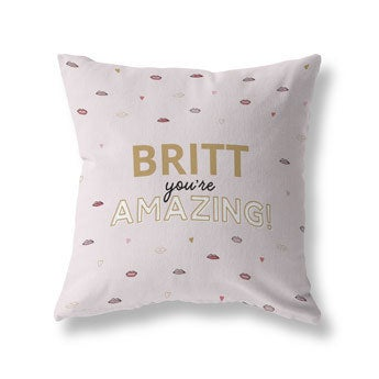 Fully printed pillow - Cotton 40x40 (unstuffed)