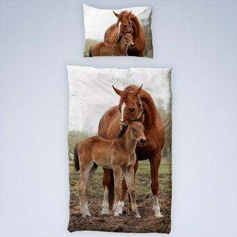 Pussilakanasetti omalla kuvalla - 100x150 cm