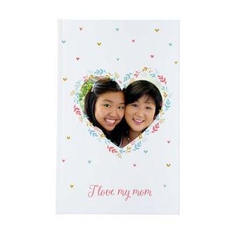 Äitienpäivä muistikirja -Kovakantinen