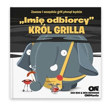 Książka z imieniem dla Króla BBQ