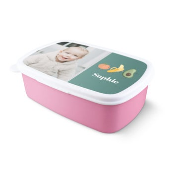 Frokostboks - Pink