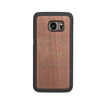 Caixa de telefone de madeira - Samsung Galaxy s7