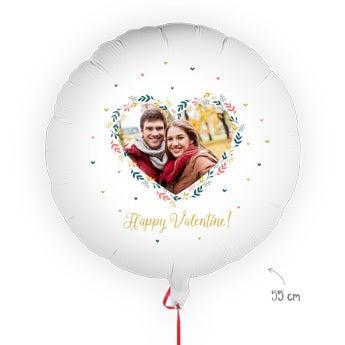 Balon walentynkowy